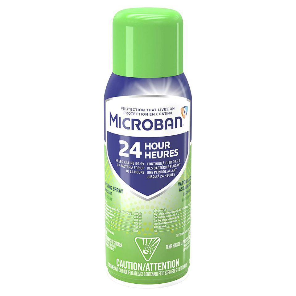This spray can kill germs for up to 24 hours after use. (Photo: Amazon)