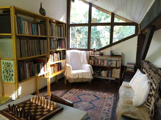 <p>There's also a games room for when you want to spend some time inside. (Airbnb) </p>