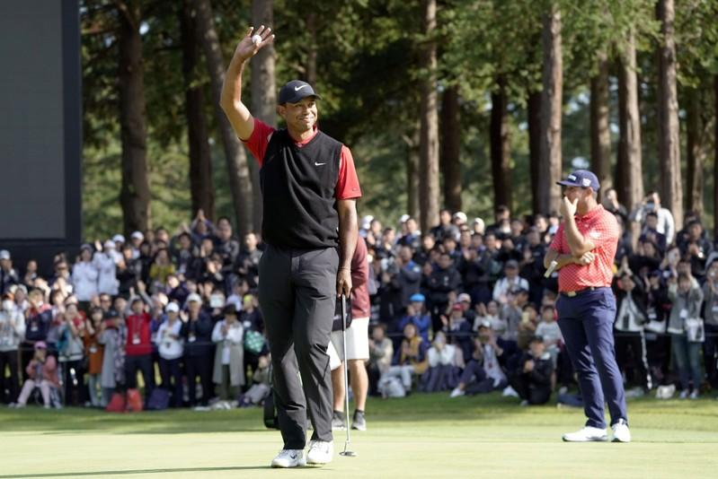 Woods headed for Presidents Cup after Zozo victory
