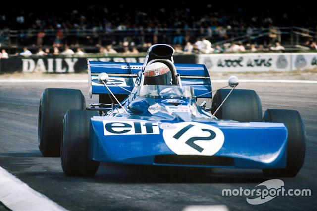 """1971- Jackie Stewart, Tyrrell-Ford <span class=""""copyright"""">LAT Images</span>"""