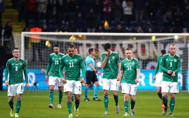 Northern Ireland will face Bosnia away in Sarajevo in the Euro play-off semi-final in March - PA
