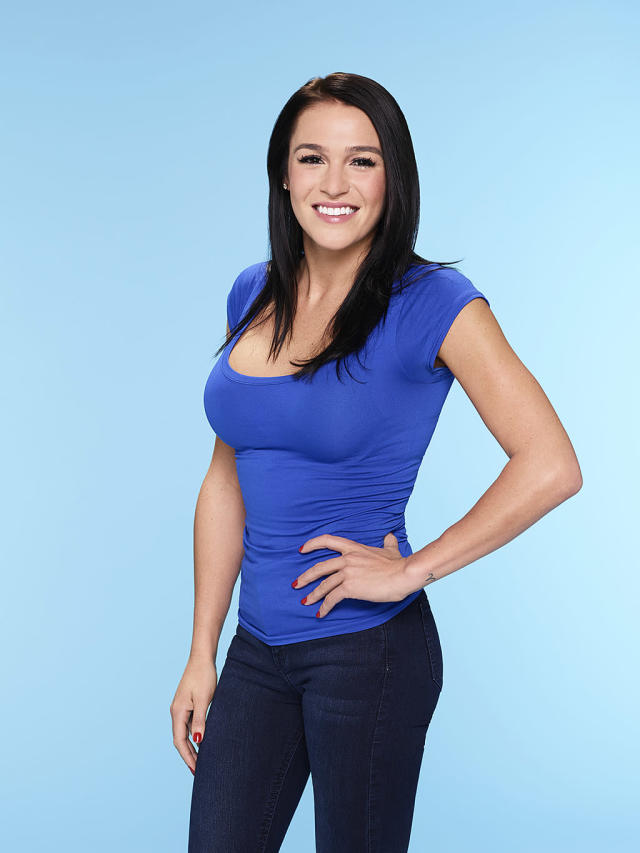 <p>Alexis was destined to appear on Paradise the moment she showed up to Nick's season of <em>The Bachelor</em> dressed as a shark — but insisting she was a dolphin.<br><br>(Photo: Mitch Haaseth/ABC) </p>