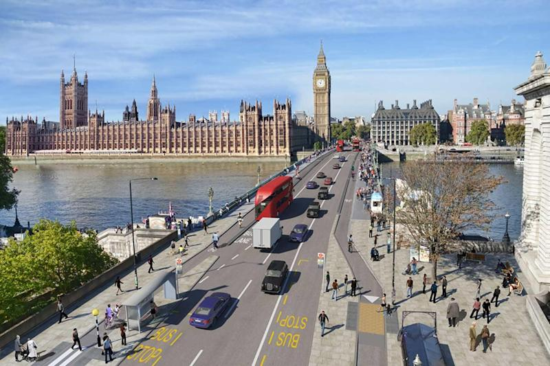 Plans: How the cycle routes will look: TfL