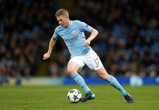 <p>The Man City star can pick a pass better than anyone. </p>