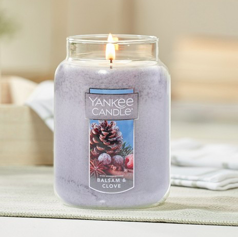 "<p><strong>Yankee Candle®</strong></p><p>target.com</p><p><strong>Out of Stock</strong></p><p><a href=""https://www.target.com/p/yankee-candle-174-balsam-clove-candles/-/A-53153803"" rel=""nofollow noopener"" target=""_blank"" data-ylk=""slk:BUY NOW"" class=""link rapid-noclick-resp"">BUY NOW</a></p><p>Amplify the smell of your Christmas tree by burning this Yankee candle in tandem. </p>"