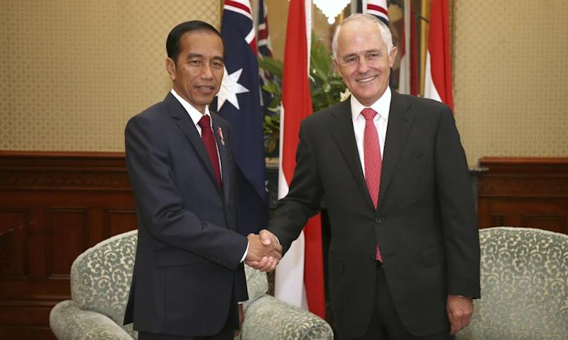 Widodo and Turnbull