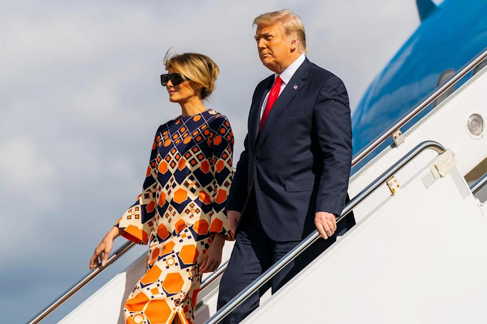 """<p>The former first lady has retreated even further from the spotlight, rarely spotted at Mar-a-Lago per <a href=""""https://people.com/politics/details-of-donald-trump-life-after-the-white-house/"""" rel=""""nofollow noopener"""" target=""""_blank"""" data-ylk=""""slk:the same CNN and PEOPLE reports"""" class=""""link rapid-noclick-resp"""">the same CNN and PEOPLE reports</a>. </p> <p>The 51-year-old continues to enjoy spa treatments at the private club and her time with 15-year-old son <a href=""""https://people.com/tag/barron-trump/"""" rel=""""nofollow noopener"""" target=""""_blank"""" data-ylk=""""slk:Barron"""" class=""""link rapid-noclick-resp"""">Barron</a>. In late April, she had a <a href=""""https://people.com/politics/melania-trump-first-birthday-after-leaving-white-house/"""" rel=""""nofollow noopener"""" target=""""_blank"""" data-ylk=""""slk:pre-birthday dinner"""" class=""""link rapid-noclick-resp"""">pre-birthday dinner</a> with President Trump, his daughter <a href=""""https://people.com/tag/ivanka-trump/"""" rel=""""nofollow noopener"""" target=""""_blank"""" data-ylk=""""slk:Ivanka"""" class=""""link rapid-noclick-resp"""">Ivanka</a> and her husband, <a href=""""https://people.com/tag/jared-kushner/"""" rel=""""nofollow noopener"""" target=""""_blank"""" data-ylk=""""slk:Jared Kushner"""" class=""""link rapid-noclick-resp"""">Jared Kushner</a>, at the club's restaurant, but otherwise """"she is very low-key and off the radar and wants it that way,"""" a source told PEOPLE.</p> <p>A spokeswoman for Mrs. Trump previously told PEOPLE she """"is enjoying life at Mar-a-Lago. She is focused on being a mother and putting her family first, while working on various projects that will take time to finalize.""""</p> <p>Barron — who had been in school in the D.C. area before moving, as his mom was said to be looking for new schools for him in the Florida area — <a href=""""https://people.com/politics/details-of-donald-trump-life-after-the-white-house/"""" rel=""""nofollow noopener"""" target=""""_blank"""" data-ylk=""""slk:recently golfed with his dad"""" class=""""link rapid-noclick-resp"""">recently golfed with his dad</a> in what a golf sourc"""
