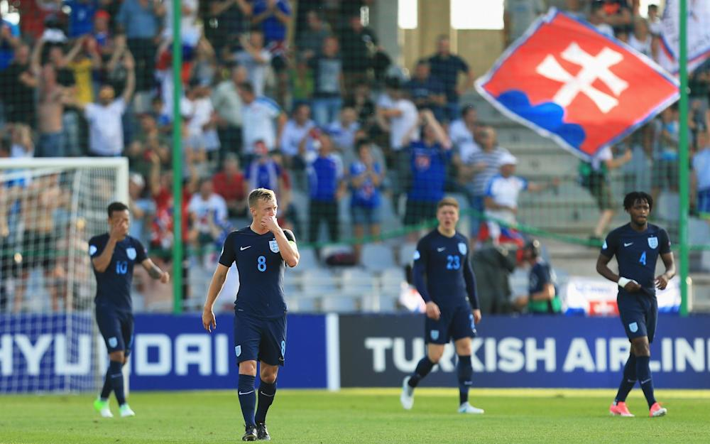 James Ward-Prowse of England looks dejected - Credit: GETTY IMAGES