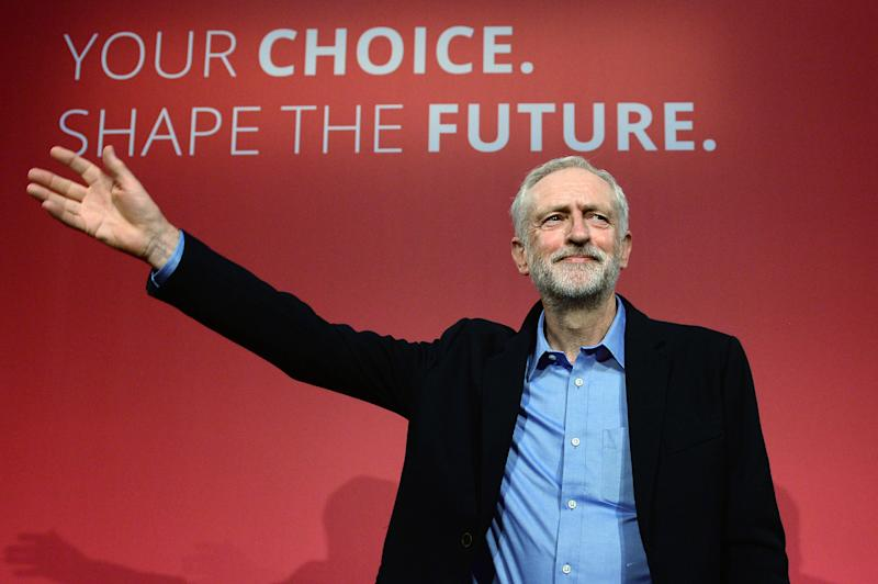 REVIEW OF THE DECADE - POLITICS File photo dated 12/09/15 of Jeremy Corbyn after he was announced as the Labour Party's new leader at a special conference at the QEII Centre in London.
