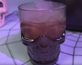 """<p>Pineapple juice, pomegranate juice, ginger ale, and rum make this delicious boozy witch's brew.</p><p><em>Get the recipe from <a href=""""https://www.delish.com/cooking/recipe-ideas/videos/a44091/boozy-witchs-brew-is-the-drink/"""" rel=""""nofollow noopener"""" target=""""_blank"""" data-ylk=""""slk:Delish"""" class=""""link rapid-noclick-resp"""">Delish</a>.</em></p>"""