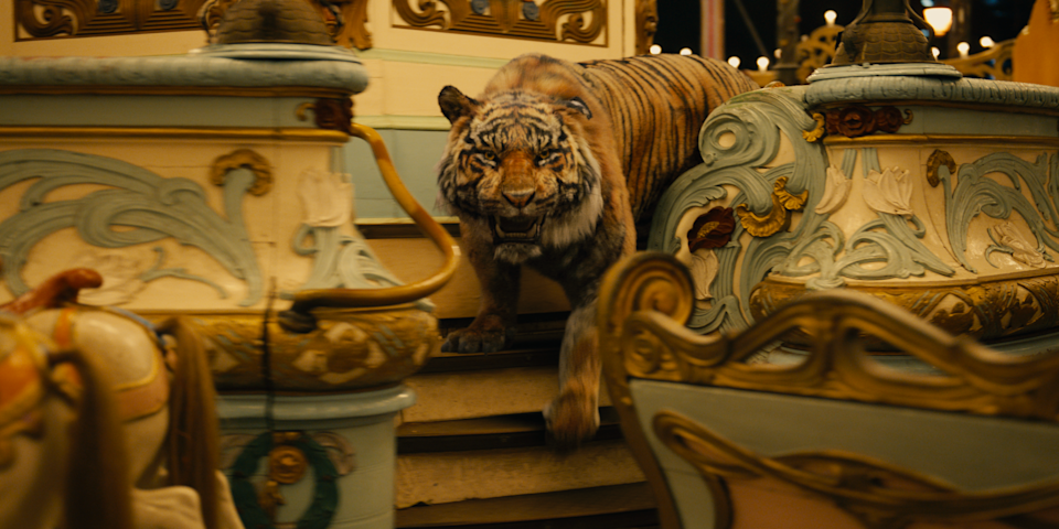 The tiger in Alice In Borderland. (Photo: Netflix)