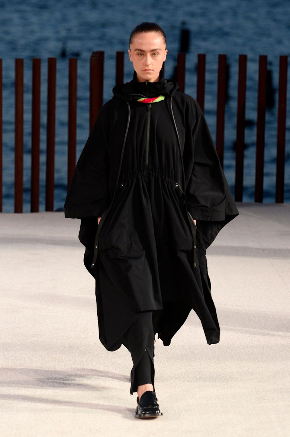 Ella Emhoff walks the runway for Proenza Schouler during NYFW: The Shows on September 08, 2021 in New York City.