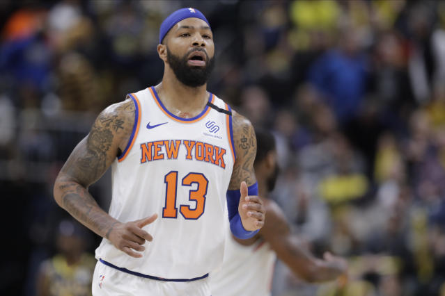 Marcus Morris in joining the Clippers in their quest for an NBA championship. (AP Photo/Darron Cummings)