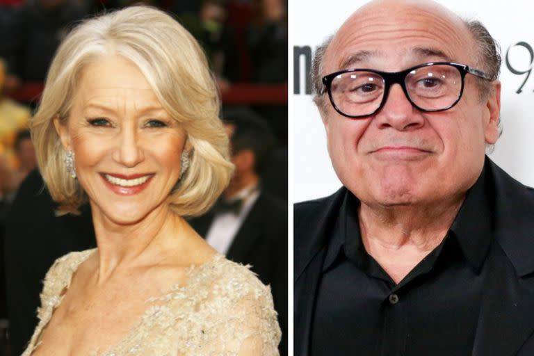 Helen Mirren and Danny DeVito will also be in the game