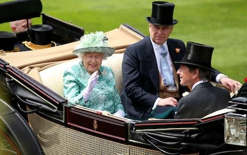 The Queen at Ascot on Saturday - Credit: PA