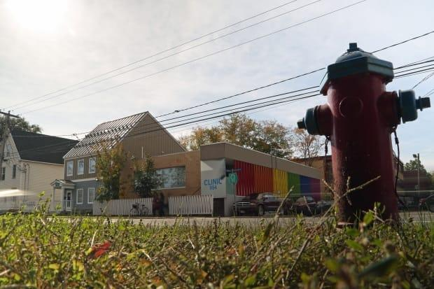Clinic 554 in Fredericton has been at the centre of the abortion access debate in New Brunswick. (Mike Heenan/CBC - image credit)