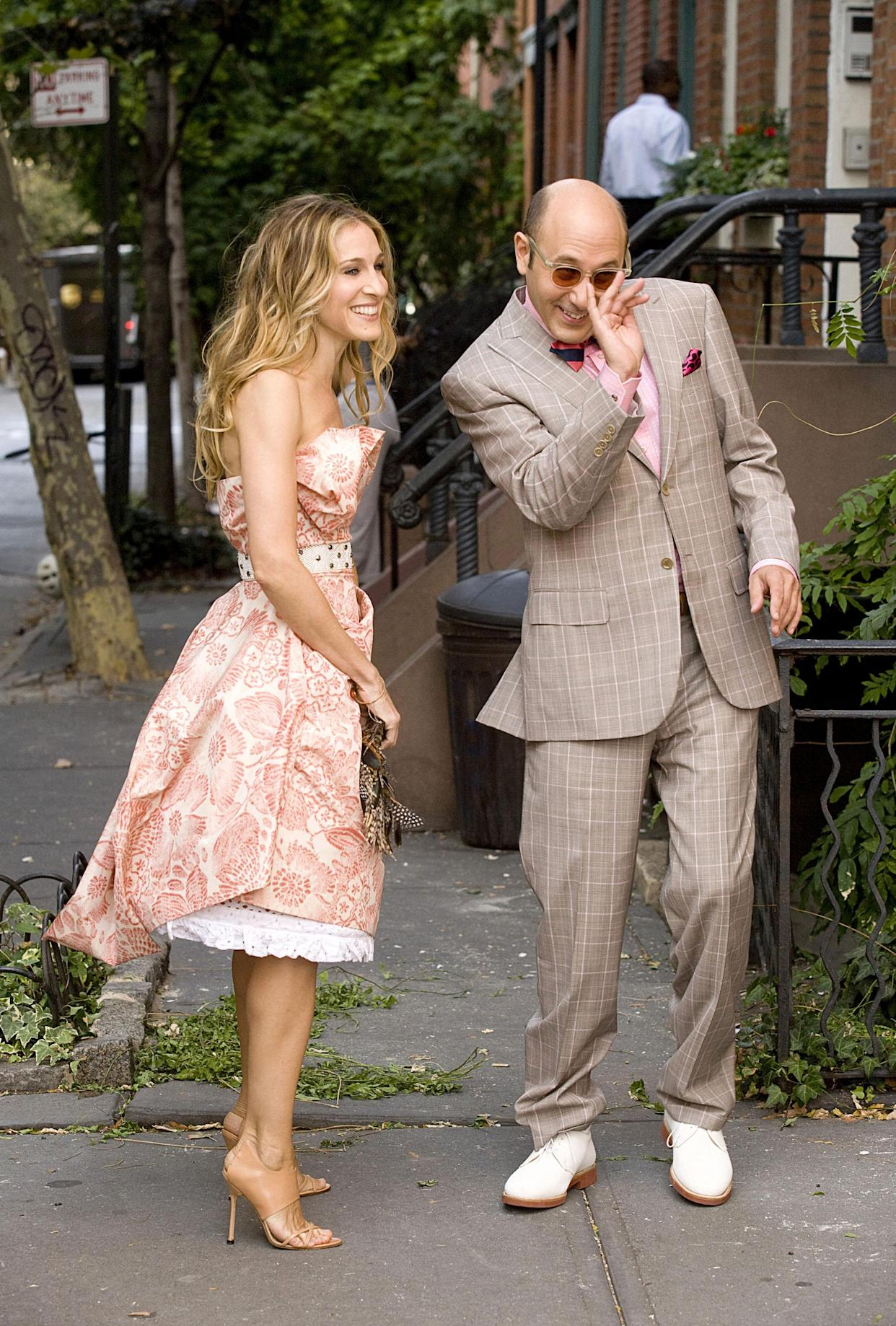 Sarah Jessica Parker and Willie Garson appear in the