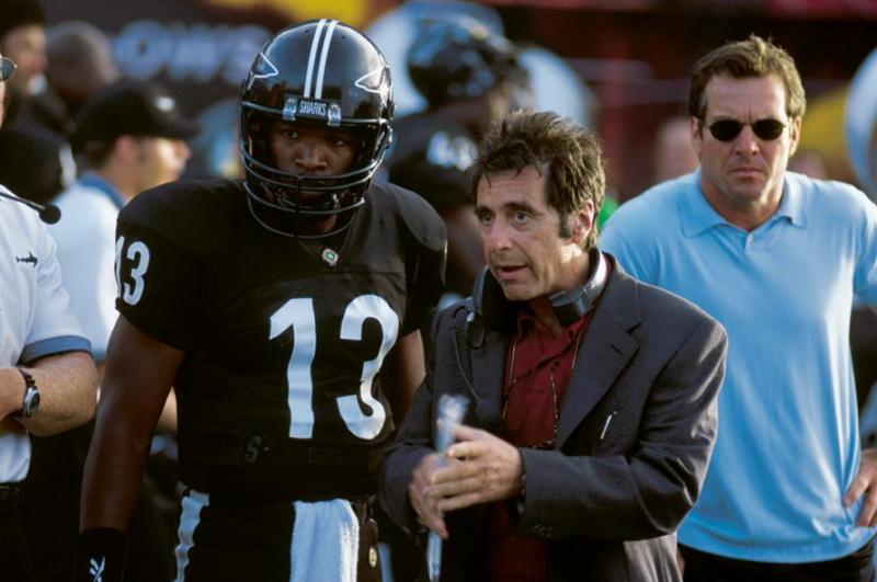 "Best: ""Any Given Sunday"" - Stone's no-holds-barred look at the world of professional football, ""Any Given Sunday"" offers a star-studded (and unflattering) portrait of a year in the life of a fictional pro team. Starring Al Pacino, Cameron Diaz, Dennis Quaid, and Jamie Foxx, the film weaves together story lines of various team members, from the fiery coach (Pacino), the new owner (Cameron Diaz), the over-the-hill quarterback (Quaid), and the up-and-coming rookie (Foxx). Featuring multiple sequences that put the audience right in the brutal, on-the-field action, you've never seen grid iron quite like this."