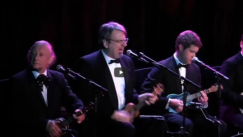 """The Ukulele Orchestra performs a doll-sized cover of Blur's """"Song 2."""""""