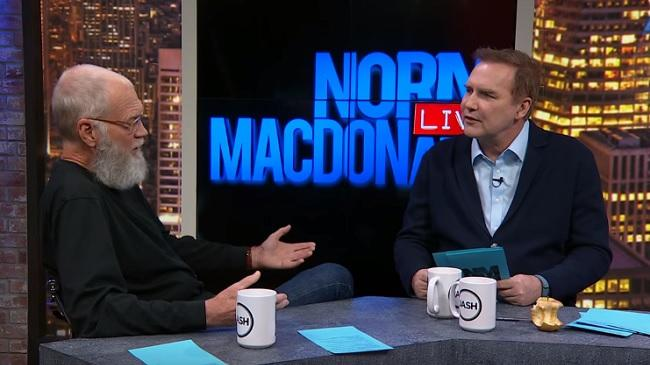 David Letterman gives rare, hilarious interview on Norm Macdonald's podcast
