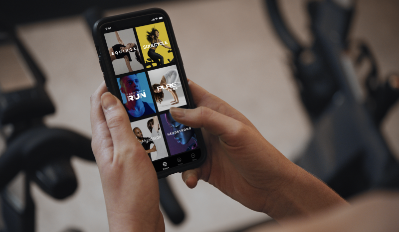 Variis, a digital platform featuring on-demand access to video and audio content from Equinox Group's instructors.