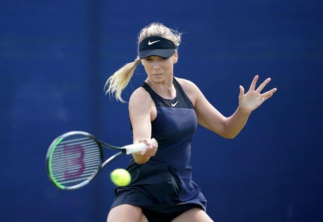 Katie Boulter has been in action in at the Viking Open in Nottingham this week