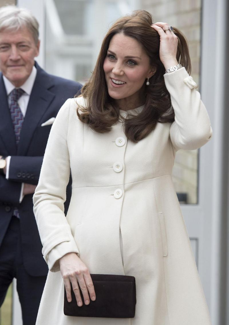 People can't stop looking at Kate Middleton's fingers. Photo: Getty Images