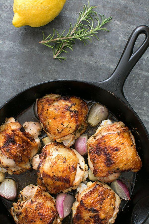 One pot dinners rosemary chicken