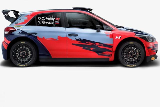 Hyundai to enter new i20 as manufacturer in WRC 2