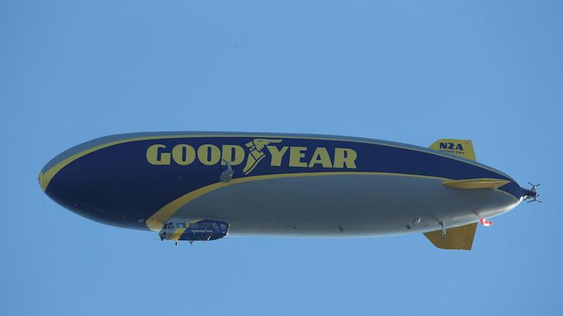 The End of an Era :  The Last Goodyear Blimp
