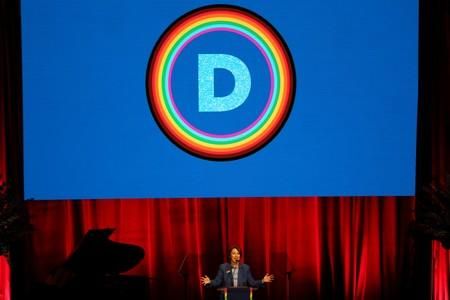 Democratic National Committee LGBTQ Gala - presidential candidates speak