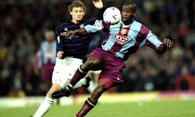 "<span class=""element-image__caption"">Ugo Ehiogu in action for Aston Villa, for whom he made over 200 appearances.</span> <span class=""element-image__credit"">Photograph: Shaun Botterill/Getty Images</span>"