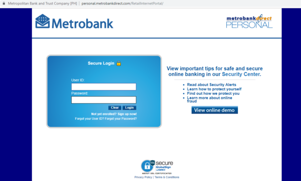 Metrobank Direct Online: Everything You Need to Know - metrobank direct homepage
