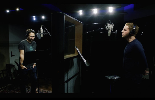"<p>""Honored to team up with Lin Manuel Miranda on 'Found/Tonight,' a gorgeous mashup of @hamiltonmusical and @DearEvanHansen arranged by the great @alacamoire,"" the Tony winner wrote, sharing this photo with Miranda in the studio. ""Proceeds go to the incredible #MarchForOurLives Initiative, so stream & download & listen. #GunControlNow"" (Photo: <a href=""https://www.instagram.com/p/BgfaK7aHh3e/?taken-by=bensplatt"" rel=""nofollow noopener"" target=""_blank"" data-ylk=""slk:Ben Platt via Instagram"" class=""link rapid-noclick-resp"">Ben Platt via Instagram</a>) </p>"