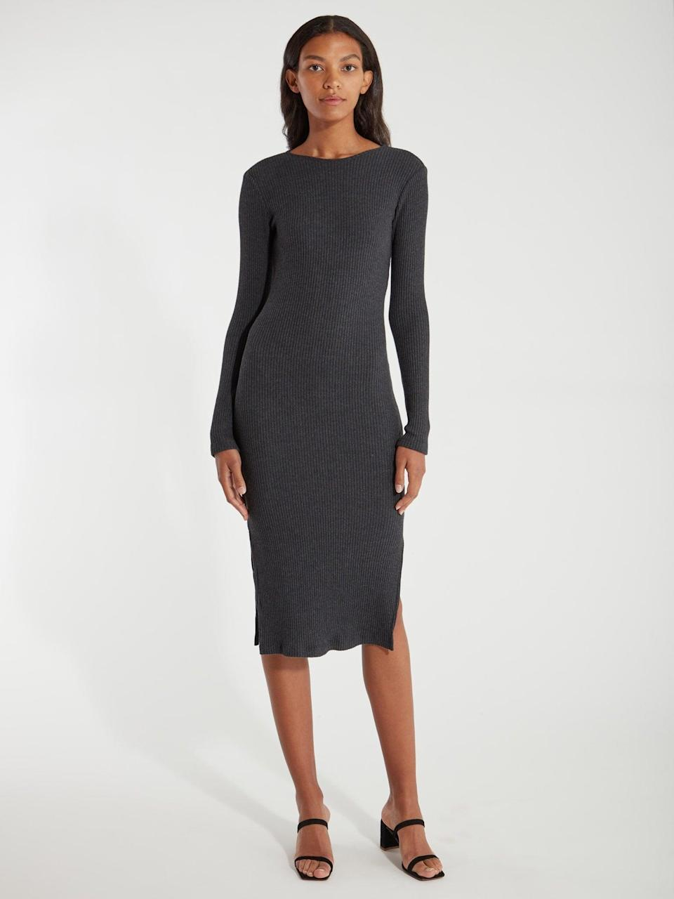 <p>This <span>Billie the Label Wilma Rib Knit Midi Dress</span> ($55, originally $128) is calling for a sunny brunch date.</p>