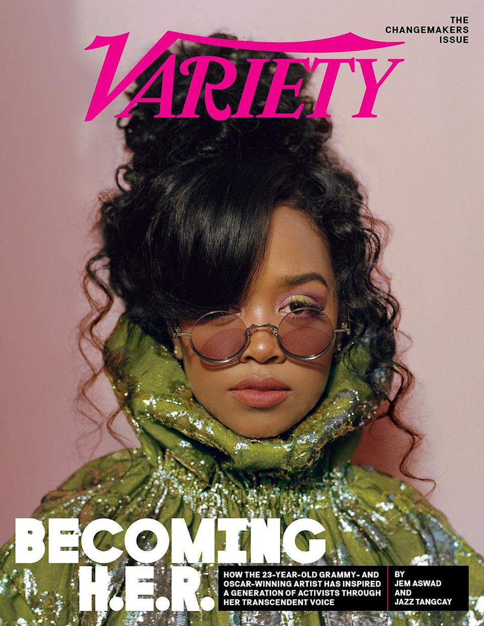 HER H.E.R. Variety Cover