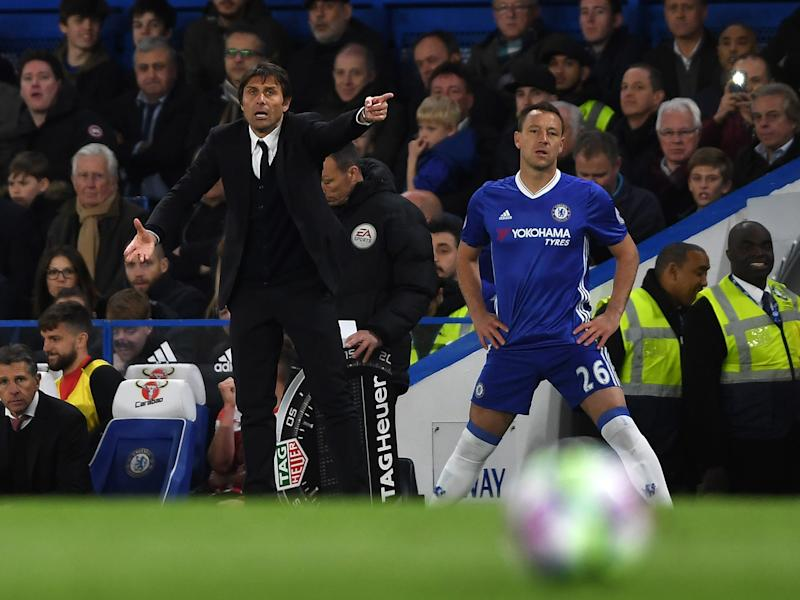 Antonio Conte often wishes he could take his frustrations out on the ball: Getty