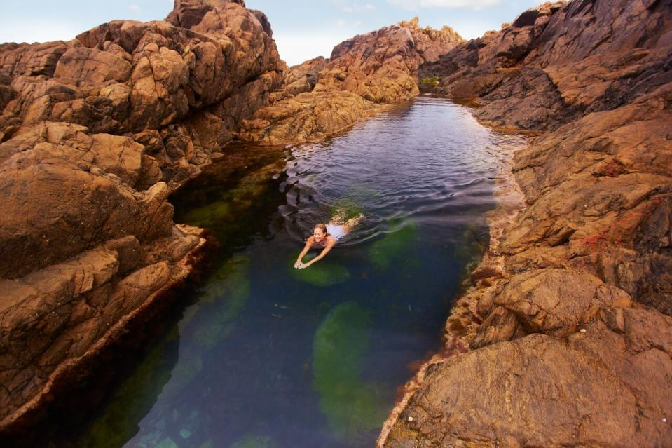 Lihou Island's magical Venus Pool.