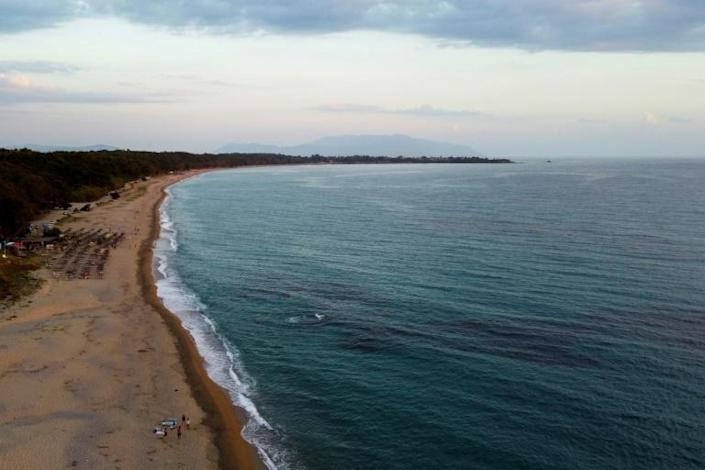 Monolithi beach in Preveza was named Europe's safest beach as it has so much room for sunbathers to spread out