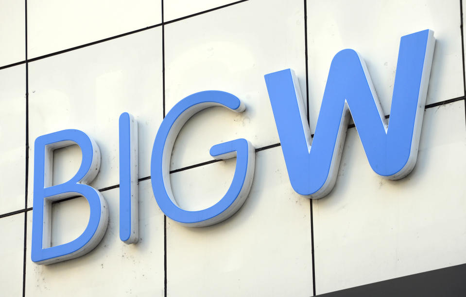 One third of Big W stores could be forced to close
