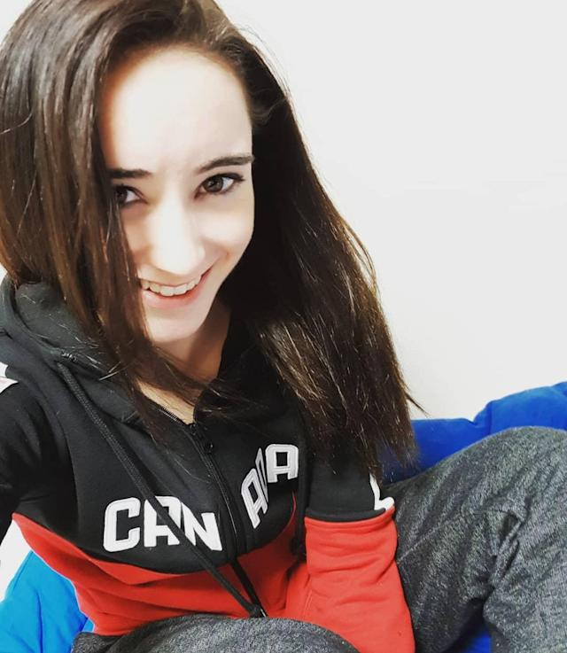 <p>Kaetlyn was born in Marystown, Newfoundland, but due to a lack of summer ice in Marystown, moved to Montreal at age seven. (Photo via Instagram/kaetkiss) </p>