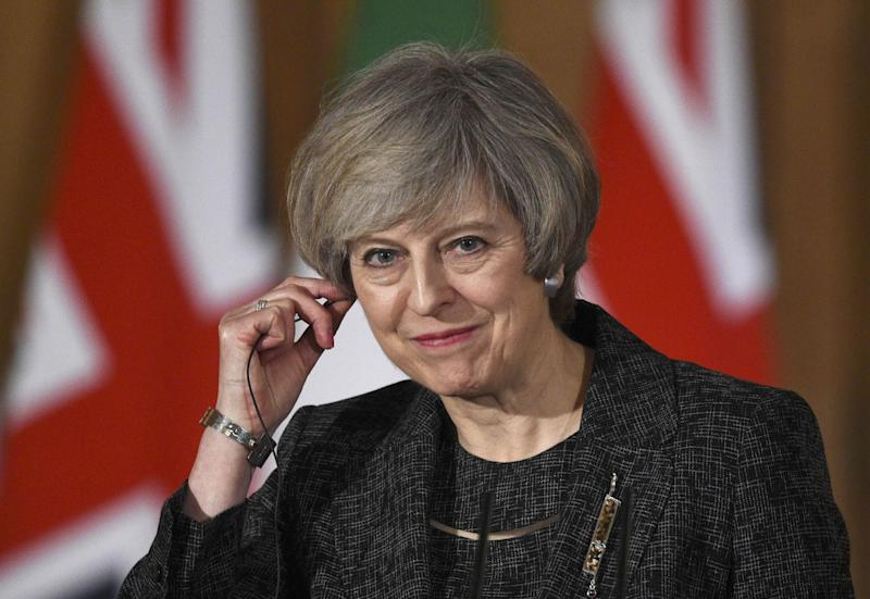 Tony Blair noted that nine months ago the PM was telling us that leaving would be bad for the country, its economy, its security and its place in the world: Getty