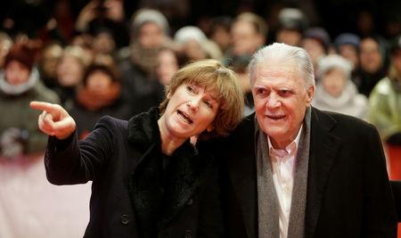 FILE PHOTO: Cinematographer Michael Ballhaus and his wife Sherry Hormann at the awards ceremony of the 66th Berlinale International Film Festival in Berlin, Germany February 20, 2016.     REUTERS/Hannibal Hanschke/File Photo