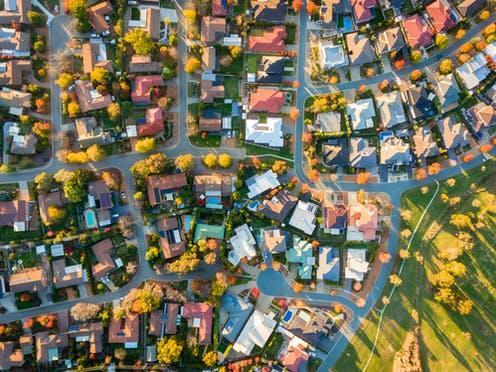 """<span class=""""attribution""""><a class=""""link rapid-noclick-resp"""" href=""""https://www.shutterstock.com/image-photo/aerial-view-typical-suburb-australia-641035918"""" rel=""""nofollow noopener"""" target=""""_blank"""" data-ylk=""""slk:Jandrie Lombard/Shutterstock"""">Jandrie Lombard/Shutterstock</a></span>"""