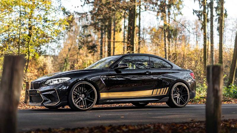 Manhart gives the BMW M2 Competition a big boost