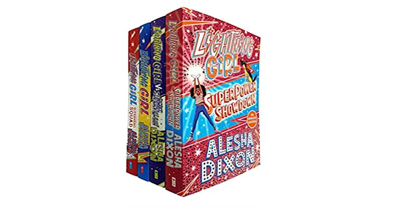 Lightning Girl 4 Books Collection Set by Alesha Dixon