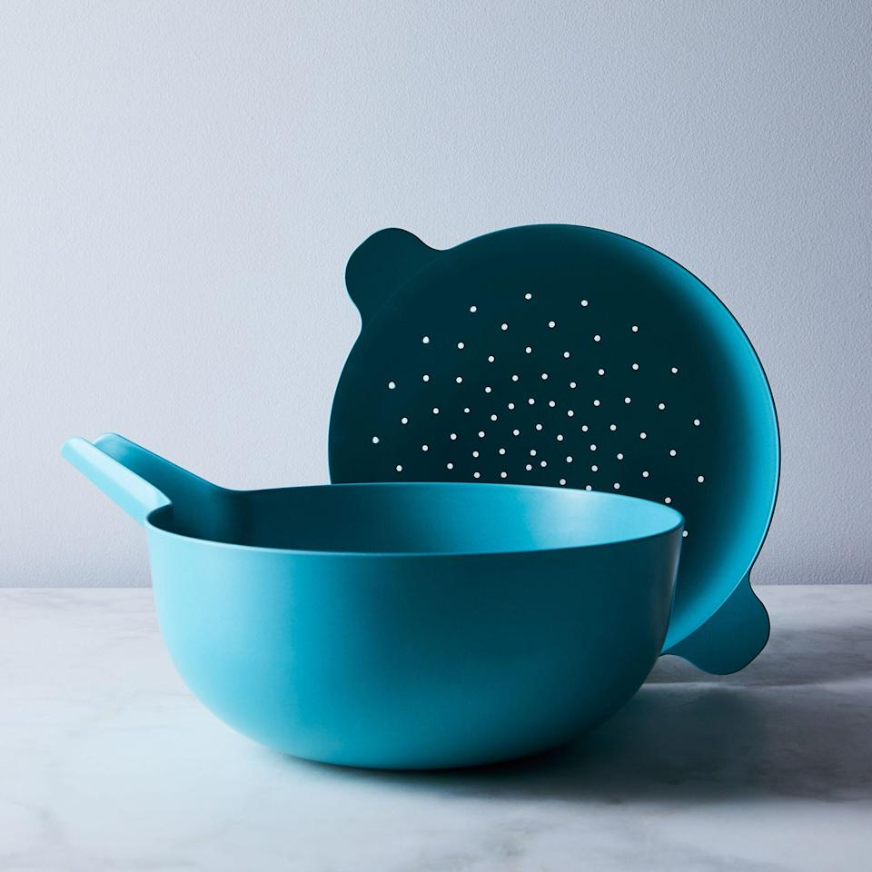 Recycled Bamboo Colander and Pour Bowl Set