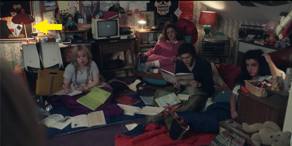 The derry girls studying in Erin's room