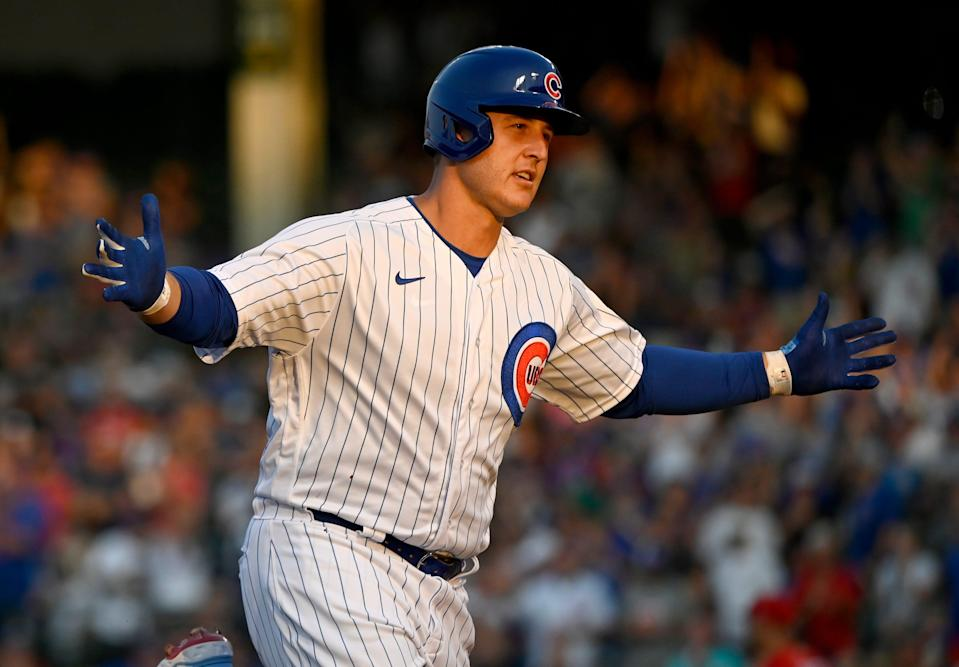 Anthony Rizzo is a free agent after the 2021 season.