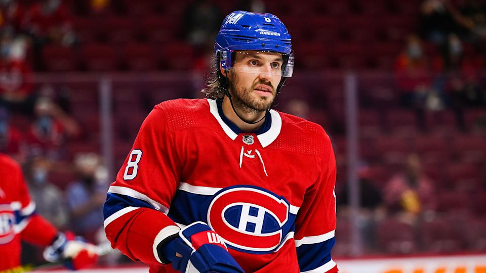 Ben Chiarot has been an unsung hero for the Habs in the playoffs. (Photo by David Kirouac/Icon Sportswire via Getty Images)